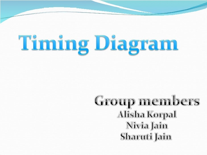 presentation on timing diagram