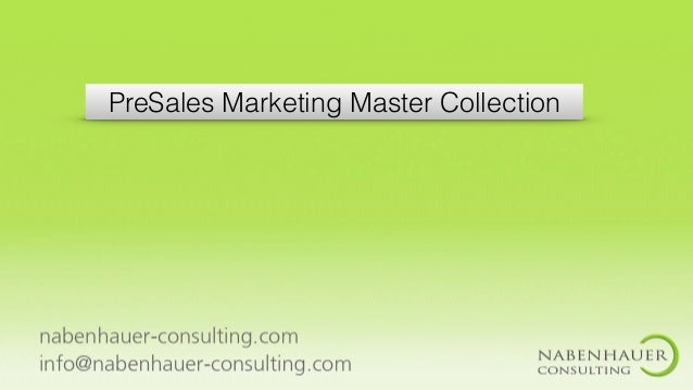 PreSales Marketing Master Collection