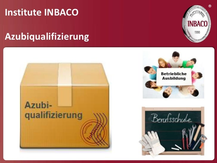 ®Institute INBACOAzubiqualifizierung