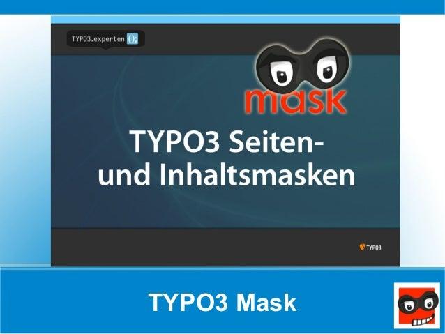 TYPO3 Mask