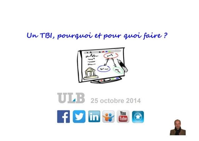 Présentation ULB 25/10/2014
