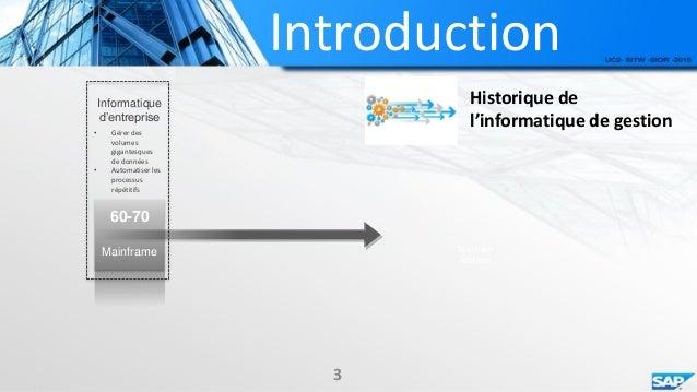 Progiciel de gestion int gr sap for Definition architecture informatique