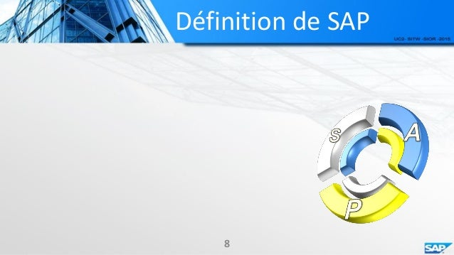 Progiciel de gestion int gr sap - Systeme centralise definition ...