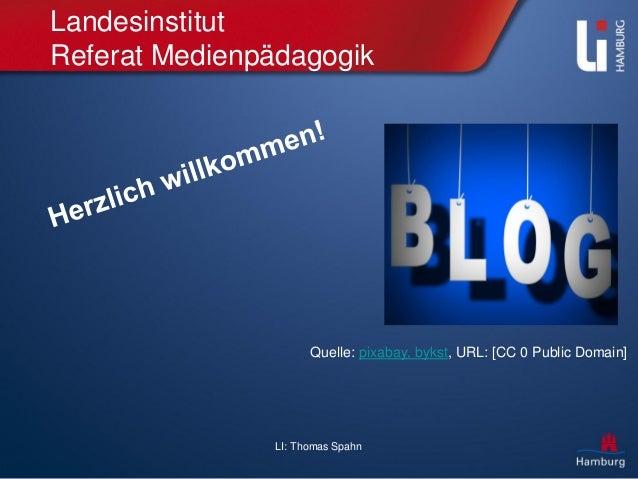 LI: Thomas Spahn Landesinstitut Referat Medienpädagogik Quelle: pixabay, bykst, URL: [CC 0 Public Domain]