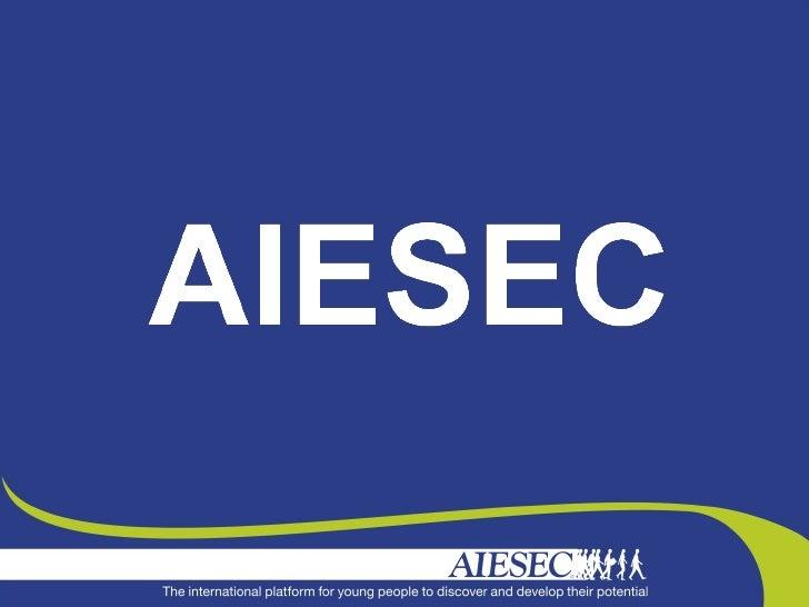 La plus grande association internationale au mondedirigée pour et par des étudiantsAIESEC donne la possibilité aux étudian...