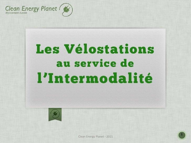 Les Vélostations  au service del'Intermodalité                                                    1     Clean Energy P...