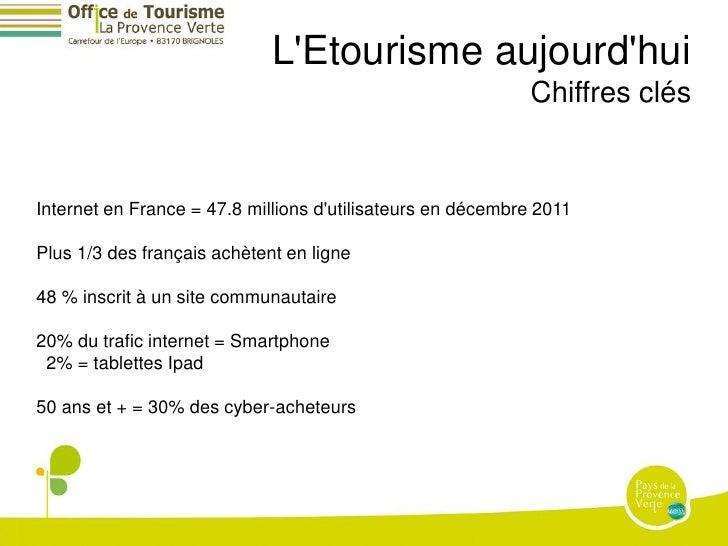 LEtourisme aujourdhui                                                            Chiffres clésInternet en France = 47.8 mi...