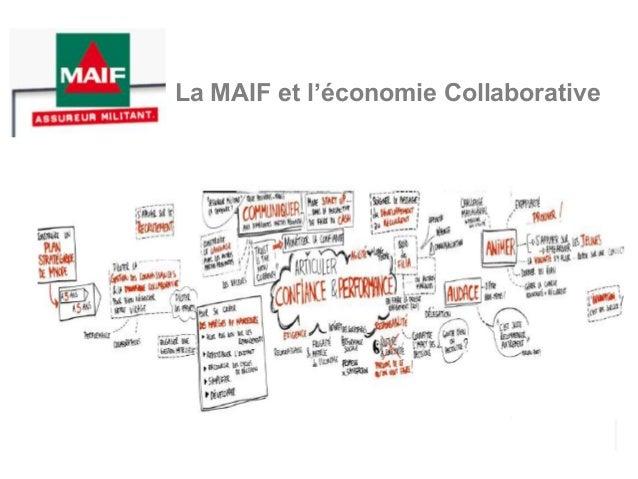 La MAIF et l'économie Collaborative
