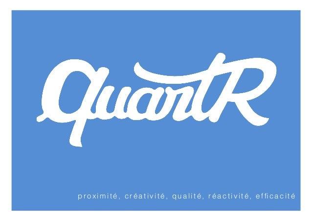 Quartr - Présentation 2013