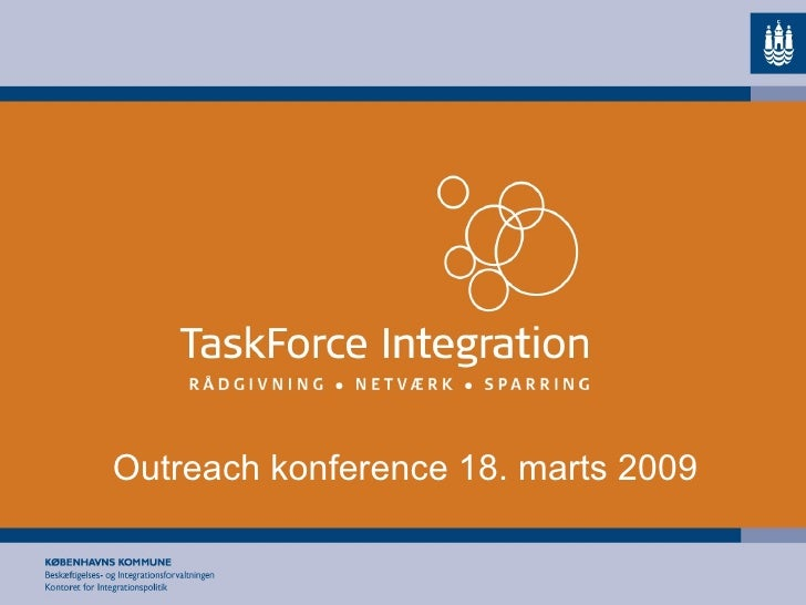 Outreach konference 18. marts 2009