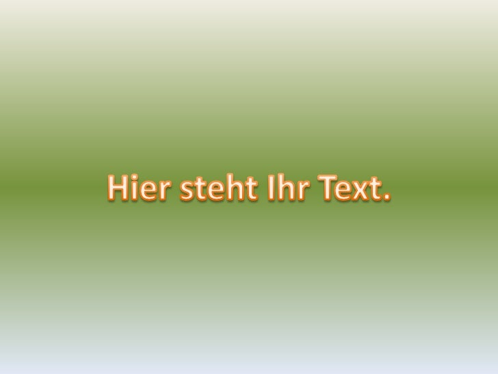 Hier steht Ihr Text.<br />