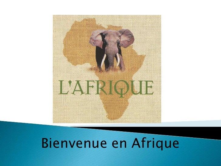 Bienvenue en Afrique<br />