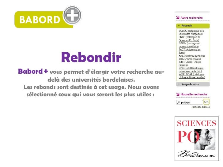 Babord+ : Rebondir