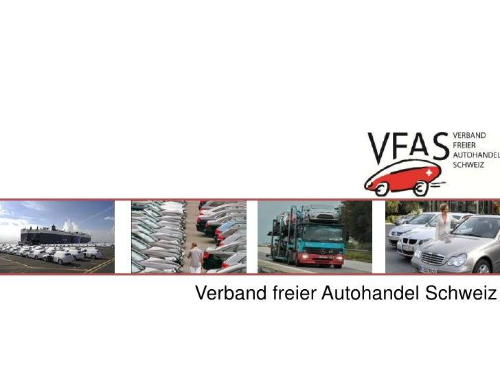 Verband freier Autohandel Schweiz