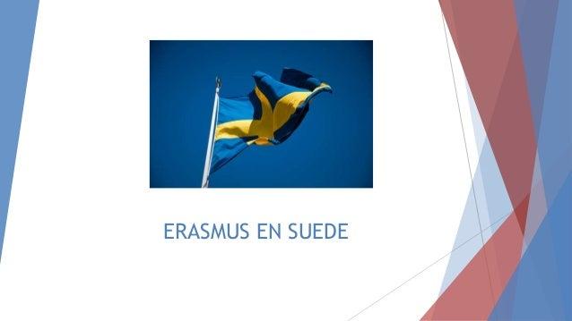 ERASMUS EN SUEDE