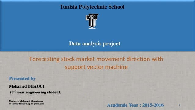 forecasting stock market movement direction with support vector machine