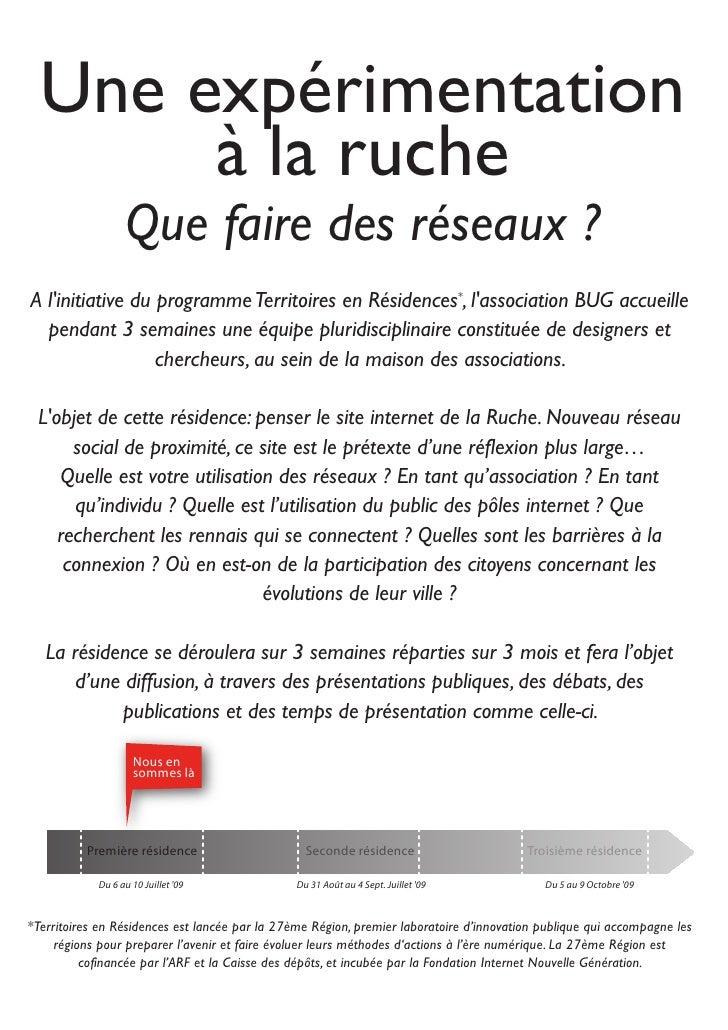 La Ruche : Présentation 02