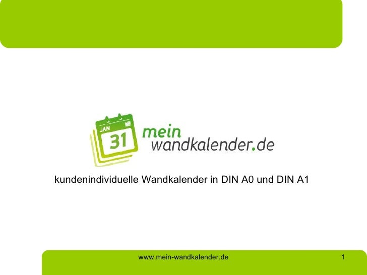 kundenindividuelle Wandkalender in DIN A0 und DIN A1 www.mein-wandkalender.de
