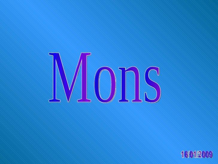 Mons 16/01/2009