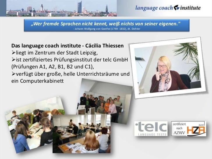 """""""Wer fremde Sprachen nicht kennt, weiß nichts von seiner eigenen.""""                          - Johann Wolfgang von Goethe (..."""
