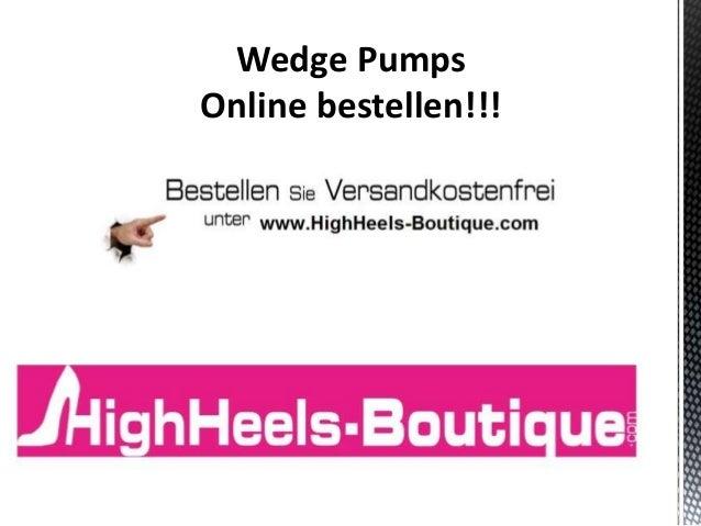 Wedge Pumps Online bestellen!!!