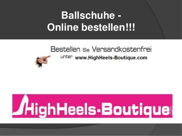 Ballschuhe Online bestellen!!!