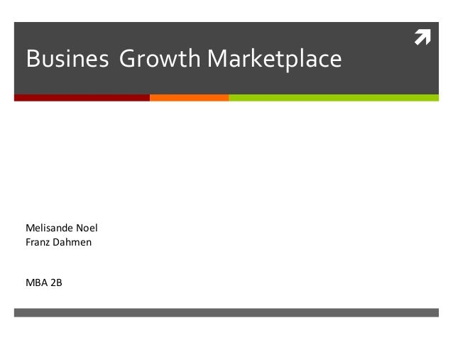 Busines  Growth Marketplace