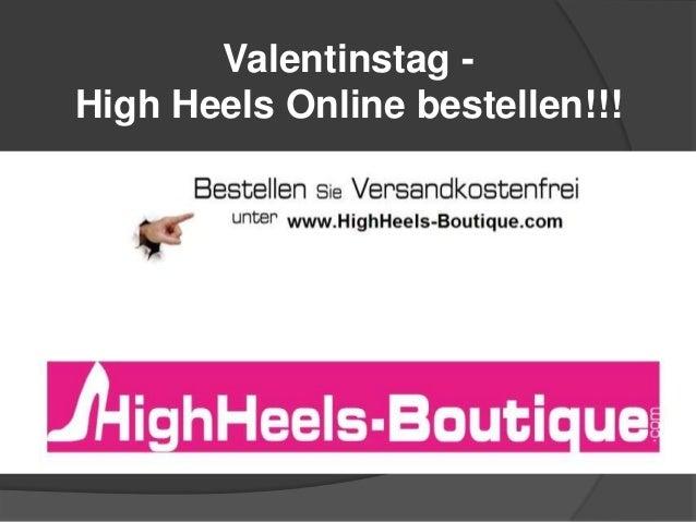 Valentinstag High Heels Online bestellen!!!