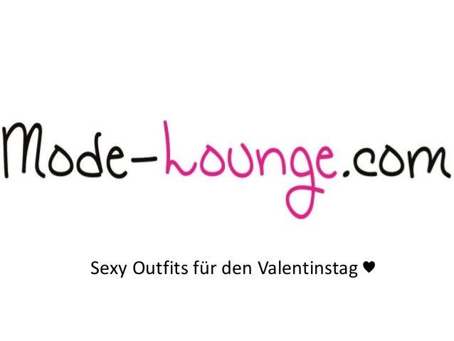 Sexy Outfits für den Valentinstag ♥