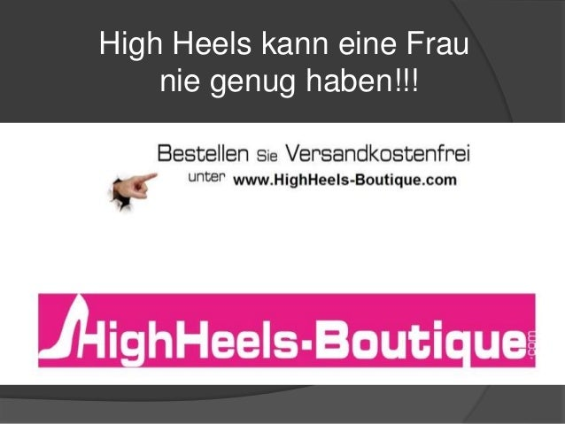 High Heels kann eine Frau nie genug haben!!!