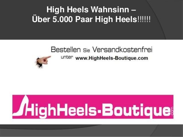 High Heels Wahnsinn –  Über 5.000 Paar High Heels!!!!!!