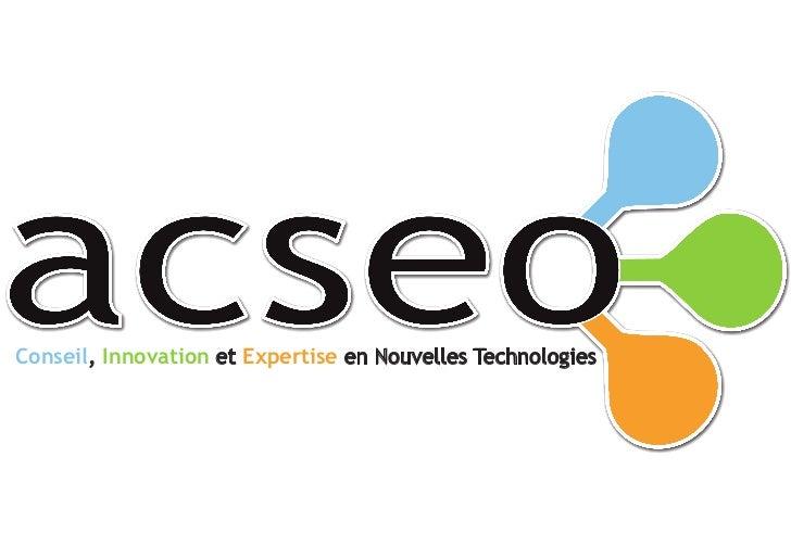 Conseil, Innovation et Expertise en Nouvelles Technologies