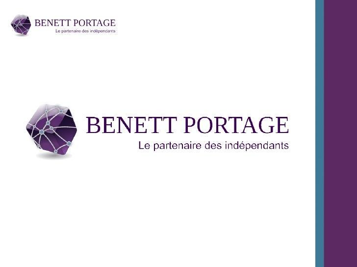 Présentation Benett PortageI. La société Benett PortageII. Le portage salarialIII. L'extranet Benett Portage