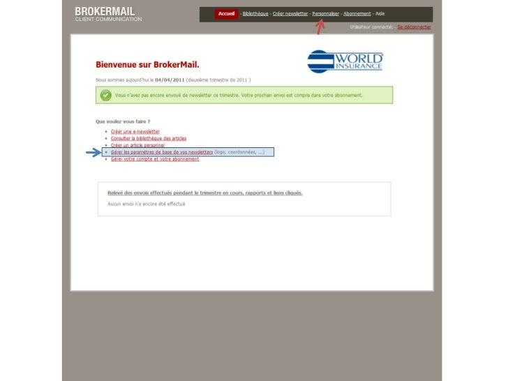 Présentation BrokerMail