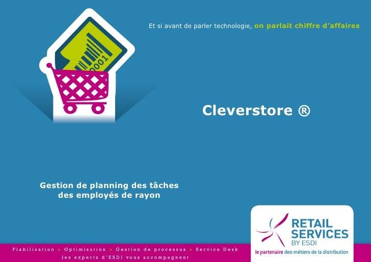Et si avant de parler technologie, on parlait chiffre d'affaires                                       Cleverstore ®Gestio...