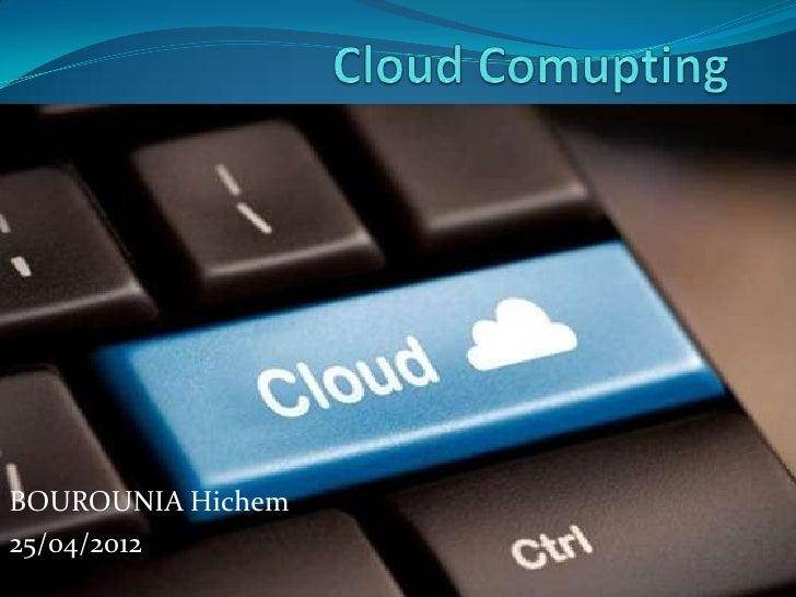 Présentation cloud computing