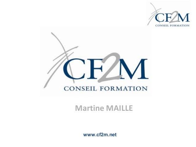 Martine MAILLE www.cf2m.net