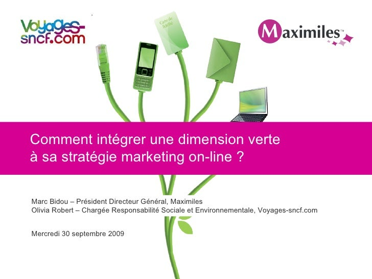 Comment intégrer une dimension verte à sa stratégie marketing on-line ?