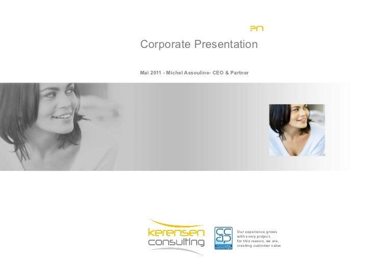 PréSentation Corporate Kerensen