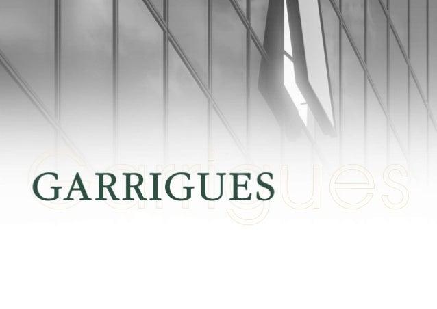 Garrigues avocats: Présentation corporative (2014)