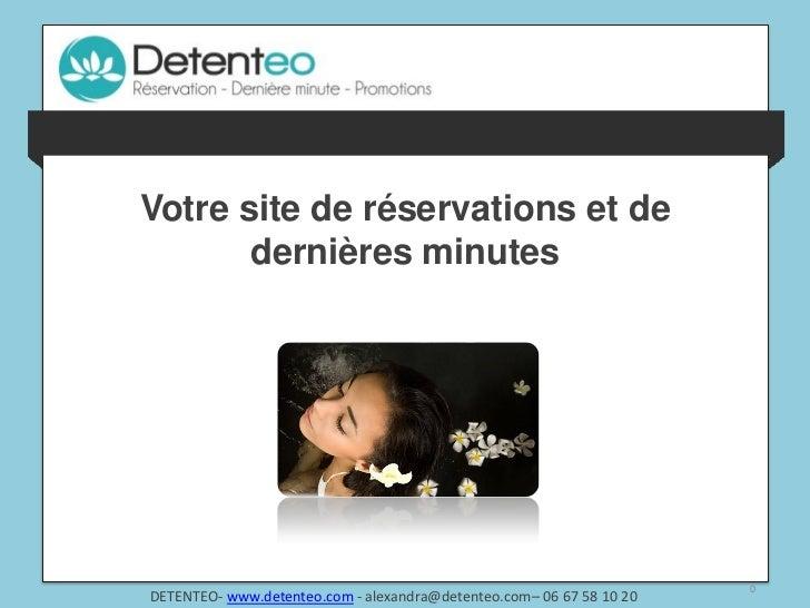 Votre site de réservations et de                  dernières minutesles professionnels la réponse à leurs besoins pour maxi...
