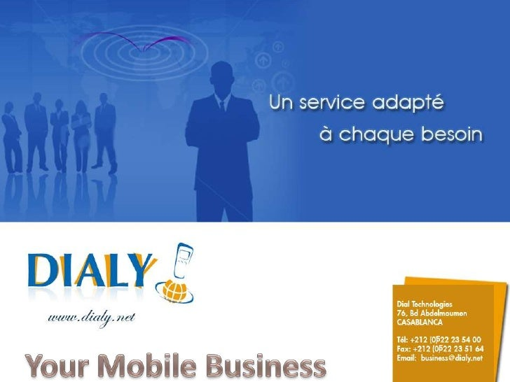 5<br />5<br />Your Mobile Business<br />
