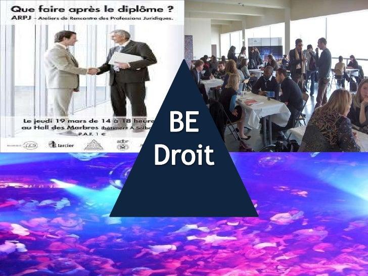 BE <br />Droit<br />