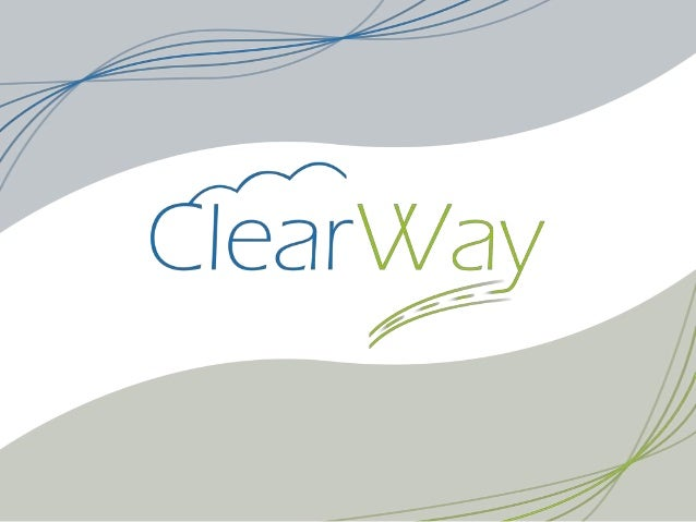 Enjeux15/12/2011   Présentation du projet ClearWay   2