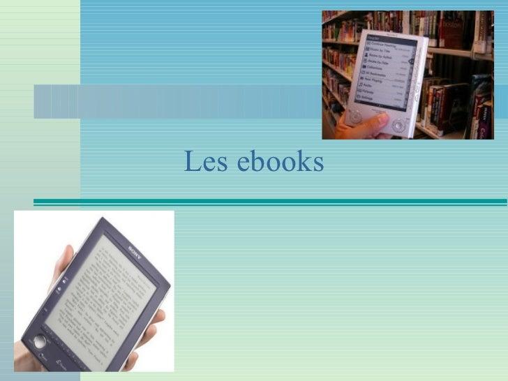 Les ebooks