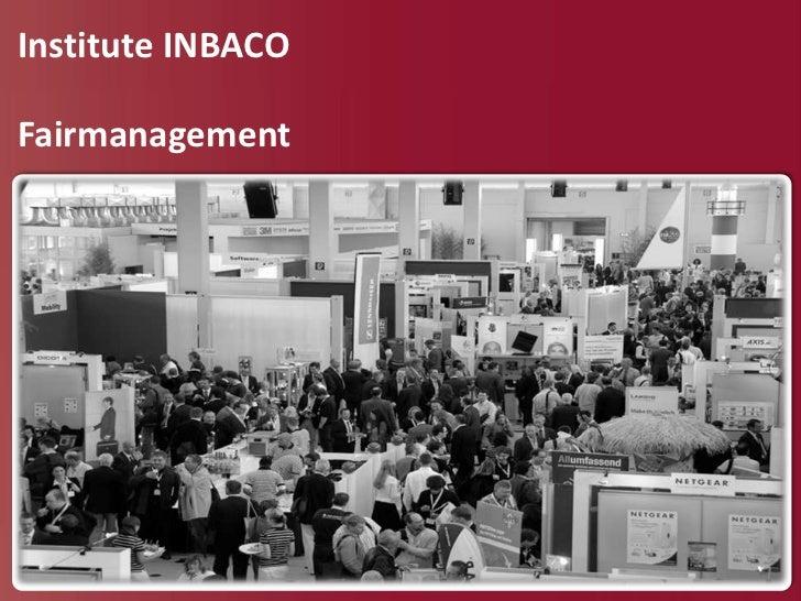 Institute INBACOFairmanagement
