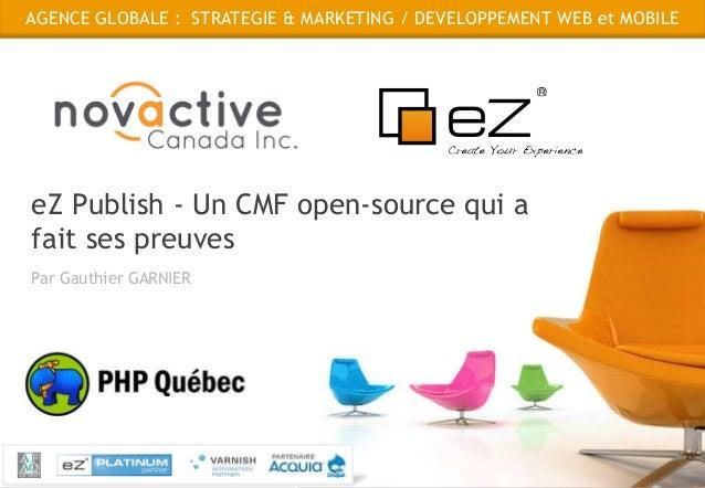 Présentation eZ Publish - PHP Québec