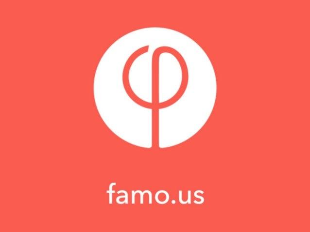 Pizza party - Présentation de famo.us
