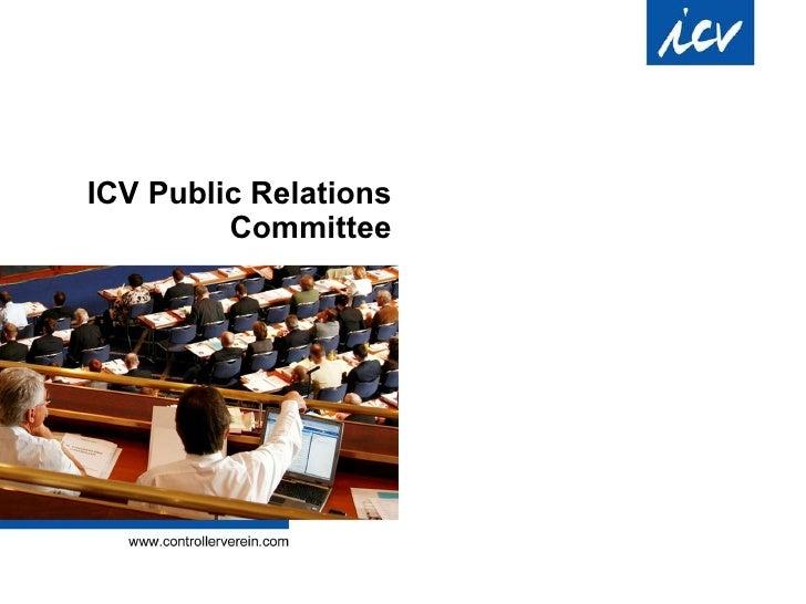 ICV Public Relations Committee