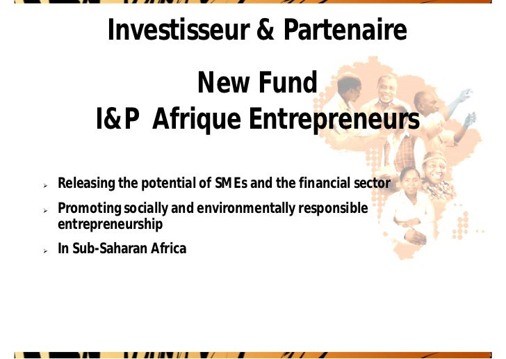 I&P Afrique Entrepreneurs